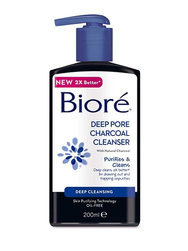 """<p>Sure, it may be coming into contact with your skin, but it's wise to remember a cleanser will be going down the drain. So, skip the fussy, pricey stuff and grab one that reaches deep; <a href=""""http://www.boots.com/en/Biore-Deep-Pore-Charcoal-Cleanser-200ml_1461282/"""" target=""""_blank"""">Biore Deep Pore Charcoal Cleanser</a> feels cooling on tired skin.</p> <p><a href=""""http://cosmopolitan.co.uk/beauty-hair/news/trends/beauty-products/new-season-budget-beauty-buys?click=main_sr"""" target=""""_blank"""">30 NEW SEASON BUDGET BUYS UNDER £20</a></p> <p><a href=""""http://cosmopolitan.co.uk/beauty-hair/news/trends/celebrity-beauty/binky-budget-beauty-buy?click=main_sr"""" target=""""_blank"""">BINKY FELSTEAD'S UNCONVENTIONAL BEAUTY TIP: CHILLI</a></p> <p><a href=""""http://cosmopolitan.co.uk/beauty-hair/beauty-tips/budget-beauty-tips-fashion-products?click=main_sr"""" target=""""_blank"""">BUDGET BEAUTY TIPS TO LOOK FABULOUS</a></p>"""