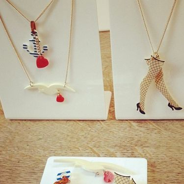 """<p>Stocking and suspenders and nautical references. There's a Sailor Jerry theme running through Tatty Devine's latest collection. We like.</p><p><a href=""""http://www.cosmopolitan.co.uk/fashion/shopping/autumn-winter-fashion-2014-trends-to-buy-now?page=1"""" target=""""_blank"""">AUTUMN/WINTER 2014 PIECES TO BUY NOW</a></p><p><a href=""""http://www.cosmopolitan.co.uk/fashion/shopping/10-forever-pieces-you-need-in-your-wardrobe"""" target=""""_blank"""">10 FOREVER PIECES THAT WILL NEVER DATE</a></p><p><a href=""""http://www.cosmopolitan.co.uk/fashion/shopping/celebrity-ad-campaigns-spring-summer-2014-rihanna-lady-gaga-jennifer-lawrence"""" target=""""_blank"""">BEST CELEBRITY AD CAMPAIGNS</a></p>"""