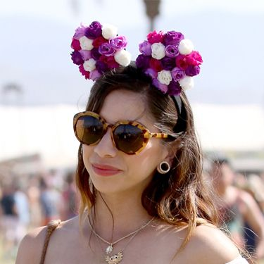 <p>Mixing up the floral crowns with a cute and whimsy twist, these mouse ears covered in petals give a new spin on the style. And hey, you can double them up if you're going to Disneyland this year - holiday and festivals sorted with some sweet headgear. </p>
