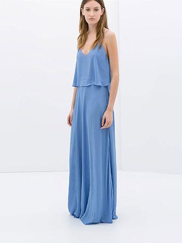 Maxi dresses from zara