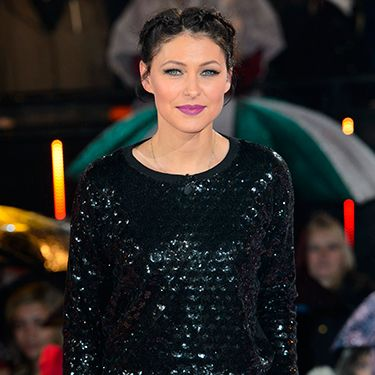 """<p>By jove does that Emma Willis know how to do make up. Her signature cats-eyeliner flick and a vibrant purple libby elevates her all black outfit.</p><p><a href=""""http://www.cosmopolitan.co.uk/fashion/shopping/10-wedding-guest-outfits-from-the-high-street"""" target=""""_blank"""">TEN WEDDING GUEST OUTFITS FROM THE HIGH STREET</a></p><p><a href=""""http://www.cosmopolitan.co.uk/fashion/shopping/celebrity-ad-campaigns-spring-summer-2014-rihanna-lady-gaga-jennifer-lawrence"""" target=""""_blank"""">CELEBRITY SS14 FASHION CAMPAIGNS</a></p><p><a href=""""http://www.cosmopolitan.co.uk/fashion/shopping/Street-style-london-spring-trends-2014-pictures"""" target=""""_blank"""">SPRING STREET STYLE INSPIRATION</a></p>"""