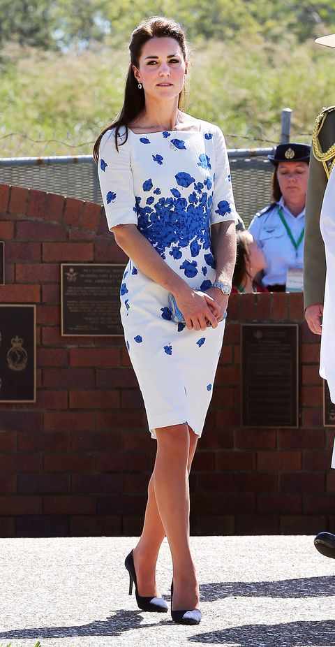 """<p>This gorgeous L.K Bennett dress is actually STILL AVAILABLE TO BUY - which has gotta be a first for a Kate frock. It'll set you back a fair whack o' cash, but you can pick it up <a href=""""http://www.lkbennett.com/Clothing/Dresses/Lasa-Poppy-Print-Dress/p/DRLASACOTTONMIXPrintSnorkel%20Blue?nr=5&product=5"""" target=""""_blank"""">here</a> if you're so inclined.</p> <p><strong>MORE ROYAL SHENANIGANS:</strong></p> <p><a href=""""http://www.cosmopolitan.co.uk/fashion/kate-middletons-royal-style-109645?click=main_sr"""" target=""""_blank"""">KATE MIDDLETON'S ROYAL STYLE CV</a></p> <p><a href=""""http://www.cosmopolitan.co.uk/celebs/celebrity-gossip/kate-middleton-prince-william-george-photo?click=main_sr"""" target=""""_blank"""">BABY GEORGE'S FIRST OFFICIAL PIC</a></p> <p><a href=""""http://www.cosmopolitan.co.uk/love-sex/cosmo-centerfolds/prince-harry-william-lookalikes-naked-centrefolds?click=main_sr"""" target=""""_blank"""">THE PRINCES STRIP FOR COSMO</a></p</p>"""