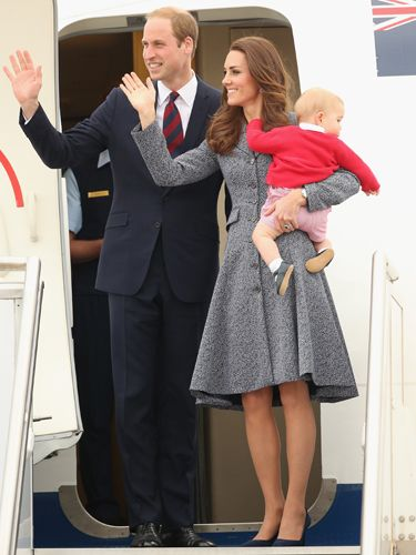 "<p>Kate's final tour outfit was an elegant grey coat dress by Catherine Walker. The Duchess stands side-by-side with the Duke of Cambridge and holds Prince George as the family bid farewell to Australia.</p> <p><strong>MORE ROYAL SHENANIGANS:</strong></p> <p><a href=""http://www.cosmopolitan.co.uk/fashion/kate-middletons-royal-style-109645?click=main_sr"" target=""_blank"">KATE MIDDLETON'S ROYAL STYLE CV</a></p> <p><a href=""http://www.cosmopolitan.co.uk/celebs/celebrity-gossip/kate-middleton-prince-william-george-photo?click=main_sr"" target=""_blank"">BABY GEORGE'S FIRST OFFICIAL PIC</a></p> <p><a href=""http://www.cosmopolitan.co.uk/love-sex/cosmo-centerfolds/prince-harry-william-lookalikes-naked-centrefolds?click=main_sr"" target=""_blank"">THE PRINCES STRIP FOR COSMO</a></p>"