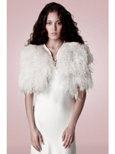 "<p>A striking ostrich feather cape by Charlie Brear will infuse your bridal look with timeless glamour.</p> <p>Ostrich feather cape, <a href=""http://www.charliebrear.com/products/1930-1-sandwashed-silk"" target=""_blank"">CharlieBrear.com </a></p> <p><a href=""http://www.cosmopolitan.co.uk/fashion/shopping/12-incredible-high-street-wedding-dresses-budget"" target=""_blank"">BEST BRIDAL GOWNS FROM THE HIGH STREET </a></p> <p><a href=""http://www.cosmopolitan.co.uk/fashion/shopping/short-bridesmaids-dresses-wear-again-uk"" target=""_blank"">SHORT BRIDESMAID DRESSES YOU CAN WEAR AGAIN </a></p> <p><a href=""http://www.cosmopolitan.co.uk/fashion/shopping/v-a-wedding-dress-bridal-exhibition-pictures-2014"" target=""_blank"">IN PICTURES: V&A WEDDING DRESS EXHIBITION</a></p>"