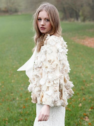 "<p>Finnish designer Minna Hepburn makes ethical, handmade and vintage-inspired bridal wear. You'll want to wear this stunning cape long after the wedding.</p> <p>Emma Flower cape, £550, <a href=""http://www.minna.co.uk/shop/product/emma-flower-cape"" target=""_blank"">Minna.co.uk</a></p> <p><a href=""http://www.cosmopolitan.co.uk/fashion/shopping/12-incredible-high-street-wedding-dresses-budget"" target=""_blank"">BEST BRIDAL GOWNS FROM THE HIGH STREET </a></p> <p><a href=""http://www.cosmopolitan.co.uk/fashion/shopping/short-bridesmaids-dresses-wear-again-uk"" target=""_blank"">SHORT BRIDESMAID DRESSES YOU CAN WEAR AGAIN </a></p> <p><a href=""http://www.cosmopolitan.co.uk/fashion/shopping/v-a-wedding-dress-bridal-exhibition-pictures-2014"" target=""_blank"">IN PICTURES: V&A WEDDING DRESS EXHIBITION</a></p>"