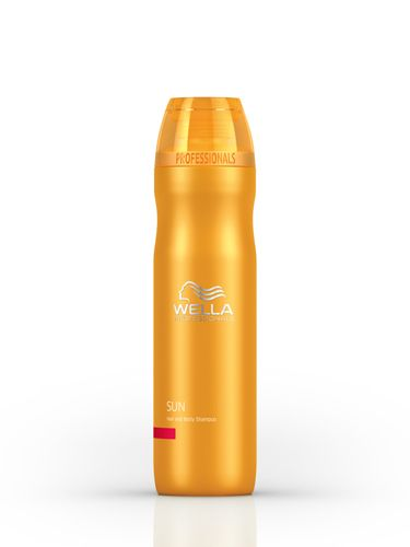 """<p>We need to lather up from head to toe on both our hair and limbs, but instead of wasting space with two bottles, get your wash and shampoo in one. Wella has a silky, sudsy lather that cares for sun-stressed skin, removing chlorine and salt water whilst putting moisture back in. Rub it in all over after a day stretched by the pool and let the invigorating scent get you prepped for evening drinks. <br /><br /><a href=""""http://www.lookfantastic.com/wella-professionals-sun-hair-body-shampoo-250ml/10620676.html"""" target=""""_blank"""">Wella Professionals Sun Hair & Body Shampoo, £7.95</a></p> <p><a href=""""http://www.cosmopolitan.co.uk/beauty-hair/beauty-and-the-backpack/"""" target=""""_blank"""">BEAUTY AND THE BACKPACK</a></p> <p><a href=""""http://www.cosmopolitan.co.uk/beauty-hair/beauty-tips/holiday-hair-tips"""" target=""""_blank"""">TIPS FOR THE PERFECT SUMMER HOLIDAY HAIR</a></p> <p><a href=""""http://www.cosmopolitan.co.uk/beauty-hair/news/styles/how-to-get-perfect-beachy-waves"""" target=""""_blank"""">HOW TO GET THE PERFECT BEACHY WAVES</a></p>"""