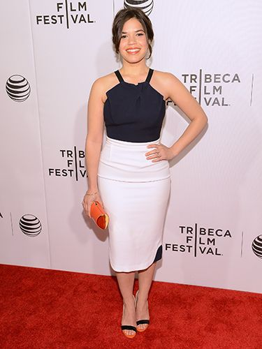 "<p>America Ferrera was looking anything but Ugly Betty at the X/Y premiere styling out this super sexy Roland Mouret halter dress.</p> <p><a href=""http://www.cosmopolitan.co.uk/fashion/shopping/What-to-pack-for-the-festivals-glastonbury-primavera"" target=""_blank"">FESTIVAL PACKING ESSENTIALS</a></p> <p><a href=""http://www.cosmopolitan.co.uk/fashion/shopping/10-wedding-guest-outfits-from-the-high-street"" target=""_blank"">10 WEDDING GUEST OUTFITS</a></p> <p><a href=""http://www.cosmopolitan.co.uk/fashion/shopping/Coachella-festival-street-style-2014-pictures"" target=""_blank"">COACHELLA STREET STYLE</a></p>"