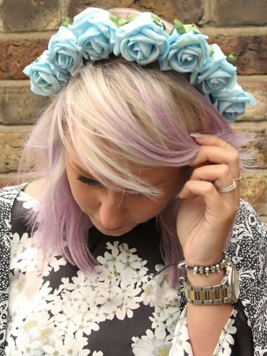"""<p>Playsuit, Topshop. Floral headband, <a href=""""https://marketplace.asos.com/seller/fieldsofash"""" target=""""_blank"""">Fields of Ash</a>. Kimono, Urban Outfitters. Shoes, Asos.</p> <p><a href=""""http://www.cosmopolitan.co.uk/fashion/shopping/What-to-pack-for-the-festivals-glastonbury-primavera"""" target=""""_blank"""">WHAT TO PACK FOR THE FESTIVALS</a></p> <p><a href=""""http://www.cosmopolitan.co.uk/fashion/shopping/Coachella-festival-street-style-2014-pictures"""" target=""""_blank"""">COACHELLA STREET STYLE HIGHLIGHTS</a></p> <p><a href=""""http://www.cosmopolitan.co.uk/fashion/shopping/Street-style-london-spring-trends-2014-pictures"""" target=""""_blank"""">MORE STREET STYLE INSPIRATION</a></p> <p>Picture by Charlie Ashfield.</p>"""