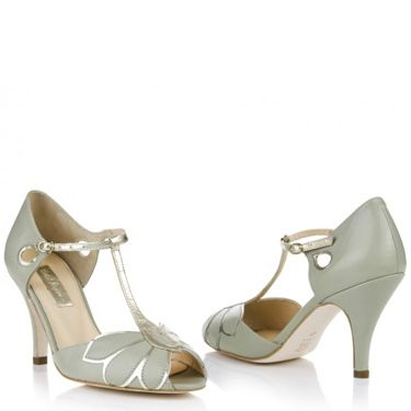 """<p>Don't be afraid to work a few delicate hints of colour into your bridal look. All-white can be harsh, but these low heeled shoes in pale mint will add a pretty touch.</p><p>'Mimosa', £160, <a href=""""http://www.rachelsimpsonshoes.co.uk/shop/mimosa-pale-mint/"""" target=""""_blank"""">RachelSimpsonshoes.co.uk</a></p><p><a href=""""http://www.cosmopolitan.co.uk/fashion/shopping/12-incredible-high-street-wedding-dresses-budget"""" target=""""_blank"""">BEST BRIDAL GOWNS FROM THE HIGH STREET </a></p><p><a href=""""http://www.cosmopolitan.co.uk/fashion/shopping/short-bridesmaids-dresses-wear-again-uk"""" target=""""_blank"""">SHORT BRIDESMAID DRESSES YOU CAN WEAR AGAIN </a></p><p><a href=""""http://www.cosmopolitan.co.uk/fashion/shopping/10-of-the-best-bridal-wedding_cover-ups"""" target=""""_blank"""">BEST BRIDAL COVER-UPS FOR COOL BRIDES</a></p>"""