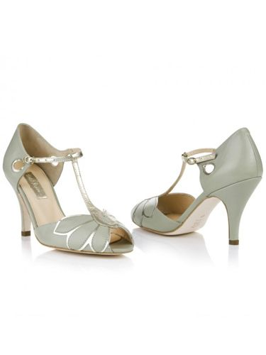 "<p>Don't be afraid to work a few delicate hints of colour into your bridal look. All-white can be harsh, but these low heeled shoes in pale mint will add a pretty touch.</p> <p>'Mimosa', £160, <a href=""http://www.rachelsimpsonshoes.co.uk/shop/mimosa-pale-mint/"" target=""_blank"">RachelSimpsonshoes.co.uk</a></p> <p><a href=""http://www.cosmopolitan.co.uk/fashion/shopping/12-incredible-high-street-wedding-dresses-budget"" target=""_blank"">BEST BRIDAL GOWNS FROM THE HIGH STREET </a></p> <p><a href=""http://www.cosmopolitan.co.uk/fashion/shopping/short-bridesmaids-dresses-wear-again-uk"" target=""_blank"">SHORT BRIDESMAID DRESSES YOU CAN WEAR AGAIN </a></p> <p><a href=""http://www.cosmopolitan.co.uk/fashion/shopping/10-of-the-best-bridal-wedding_cover-ups"" target=""_blank"">BEST BRIDAL COVER-UPS FOR COOL BRIDES</a></p>"