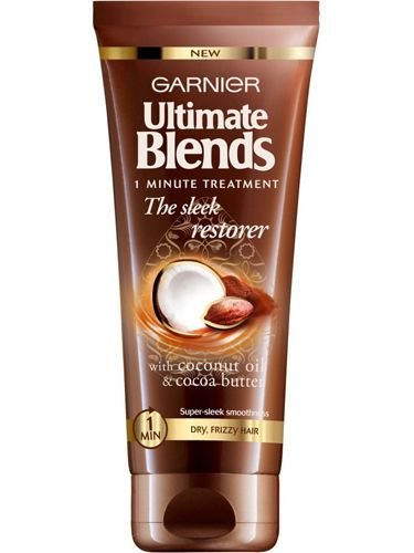 """<p>Conditioner is for every wash but hair needs a weekly treat, so slather on a treatment mask from mid-lengths through the tips. Many require a lengthy wait to let the cream sink in, but Garnier's one minute miracle lends a speedy moisture burst. <br /><br /><a href=""""http://www.boots.com/en/Garnier-Ultimate-Blends-The-Sleek-Restorer-Intensive-1-Minute-Treatment-150ml_1422086/"""" target=""""_blank"""">Garnier Ultimate Blends The Sleek Restorer Intensive 1 Minute Treatment, £4.49</a></p> <p><a href=""""http://www.cosmopolitan.co.uk/beauty-hair/beauty-tips/makeup-bag-products-must-haves"""" target=""""_blank"""">THE 12 MAKEUP BAG MUST-HAVES EVERY GIRL NEEDS</a></p> <p><a href=""""http://www.cosmopolitan.co.uk/beauty-hair/news/trends/beauty-products/ten-best-hair-treatments-beauty"""" target=""""_blank"""">COSMO'S 10 BEST HAIR TREATMENTS</a></p> <p><a href=""""http://www.cosmopolitan.co.uk/beauty-hair/beauty-tips/10-hair-tricks-need-to-know"""" target=""""_blank"""">10 HAIR TRICKS EVERY GIRL SHOULD KNOW</a></p>"""