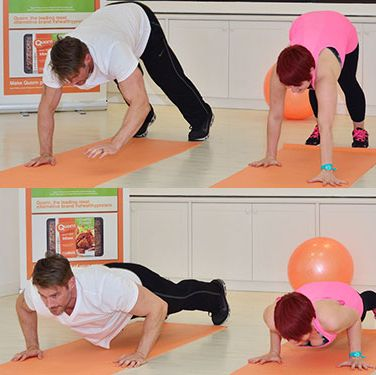 """<p><em>For strengthening arms, shoulders, back and core:</em></p><p>1. Stand with your feet slightly apart and your hands by your sides</p><p>2. Walk your hands forward until you're in push up position</p><p>3. Do a push up</p><p>4. Walk your hands back until you're standing again</p><p><a title=""""5 THINGS PERSONAL TRAINERS WISH YOU KNEW"""" href=""""http://www.cosmopolitan.co.uk/diet-fitness/fitness/what-personal-trainers-wish-you-knew"""" target=""""_blank"""">5 THINGS PERSONAL TRAINERS WISH YOU KNEW</a></p><p><a title=""""HOW TO GET MORE OUT OF YOUR SQUATS"""" href=""""http://www.cosmopolitan.co.uk/diet-fitness/fitness/how-to-get-more-out-of-squats"""" target=""""_blank"""">HOW TO GET MORE OUT OF YOUR SQUATS</a></p><p><a title=""""5 MOVES FOR A TOTAL BODY WORKOUT"""" href=""""http://www.cosmopolitan.co.uk/diet-fitness/fitness/five-moves-total-body-workout"""" target=""""_blank"""">5 MOVES FOR A TOTAL BODY WORKOUT</a></p>"""