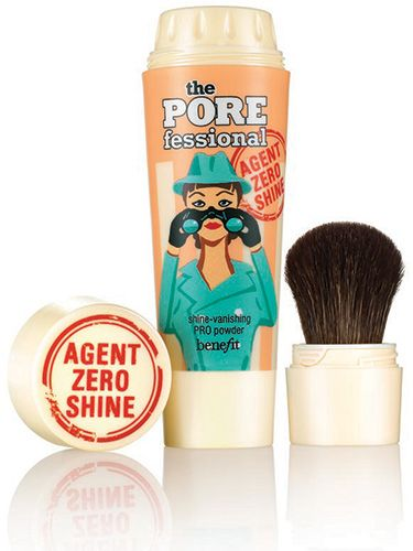 """<p>Benefit do trouble-shooting beauty a treat and as the days warm up you'll be reaching for this handbag hero to shun shine on your T-zone – believe us. Tap and sweep the oil control powder in the built-in brush across your skin to blot and belittle pores pronto.</p> <p>Benefit The Porefessional Shine Vanishing Pro Powder, £23.50, <a href=""""http://www.benefitcosmetics.co.uk/product/view/the-porefessional-agent-zero-shine"""" target=""""_blank"""">benefitcosmetics.co.uk</a></p> <p><a href=""""http://www.cosmopolitan.co.uk/beauty-hair/beauty-tips/how-to-wear-makeup-palettes"""" target=""""_blank"""">HOW TO WEAR SUMMER'S PRETTY MAKEUP PALETTES</a></p> <p><a href=""""http://www.cosmopolitan.co.uk/beauty-hair/beauty-tips/hair-kit-heroes-we-need"""" target=""""_self"""">THE 10 HAIR KIT HEROES EVERY GIRL NEEDS TO OWN</a></p> <p><a href=""""http://www.cosmopolitan.co.uk/beauty-hair/beauty-tips/makeup-bag-products-must-haves"""" target=""""_self"""">12 MAKEUP BAG MUST-HAVES YOU SHOULD KNOW ABOUT</a></p>"""