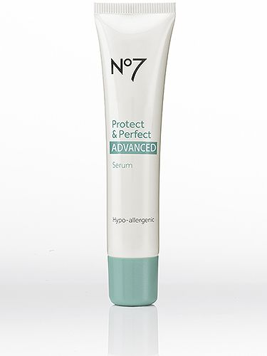 """<p>Seven years ago the original Protect & Perfect sent shockwaves around the skincare market and now a new, improved version is hitting shelves. The 'Advanced' serum aimed at 25-35 year olds has been describes as having """"the best anti-ageing results I've ever seen"""" by respected scientist Dr Mike Bell. Sold.</p> <p>No 7 Protect & Perfect Advanced Serum, £23.95, <a href=""""http://www.boots.com"""" target=""""_blank"""">boots.com</a></p> <p><a href=""""http://www.cosmopolitan.co.uk/beauty-hair/beauty-tips/how-to-wear-makeup-palettes"""" target=""""_blank"""">HOW TO WEAR SUMMER'S PRETTY MAKEUP PALETTES</a></p> <p><a href=""""http://www.cosmopolitan.co.uk/beauty-hair/beauty-tips/hair-kit-heroes-we-need"""" target=""""_self"""">THE 10 HAIR KIT HEROES EVERY GIRL NEEDS TO OWN</a></p> <p><a href=""""http://www.cosmopolitan.co.uk/beauty-hair/beauty-tips/makeup-bag-products-must-haves"""" target=""""_self"""">12 MAKEUP BAG MUST-HAVES YOU SHOULD KNOW ABOUT</a></p>"""