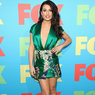 """<p>Glee's Lea Michele released her inner vixen at last night's Fox event as she wore an oriental print silk dress with a plunging neckline. If you've got it…</p><p><a href=""""http://www.cosmopolitan.co.uk/fashion/shopping/celebs-looking-amazing-in-leather-trousers"""" target=""""_blank"""">HOW TO WEAR LEATHER TROUSERS</a></p><p><a href=""""http://www.cosmopolitan.co.uk/fashion/shopping/15-times-caroline-flack-looked-amazing"""" target=""""_blank"""">15 TIMES CAROLINE FLACK LOOKED AMAZING</a></p><p><a href=""""http://www.cosmopolitan.co.uk/fashion/shopping/how-to-shop-for-vintage-clothes-expert-tips"""" target=""""_blank"""">HOW TO SHOP FOR VINTAGE CLOTHES</a></p>"""