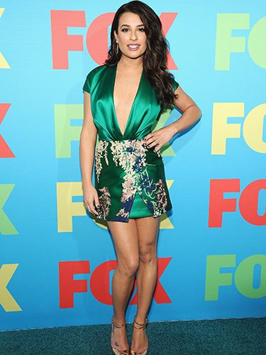 "<p>Glee's Lea Michele released her inner vixen at last night's Fox event as she wore an oriental print silk dress with a plunging neckline. If you've got it…</p> <p><a href=""http://www.cosmopolitan.co.uk/fashion/shopping/celebs-looking-amazing-in-leather-trousers"" target=""_blank"">HOW TO WEAR LEATHER TROUSERS</a></p> <p><a href=""http://www.cosmopolitan.co.uk/fashion/shopping/15-times-caroline-flack-looked-amazing"" target=""_blank"">15 TIMES CAROLINE FLACK LOOKED AMAZING</a></p> <p><a href=""http://www.cosmopolitan.co.uk/fashion/shopping/how-to-shop-for-vintage-clothes-expert-tips"" target=""_blank"">HOW TO SHOP FOR VINTAGE CLOTHES</a></p>"