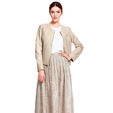 """<p>M&S have outdone themselves with this gorgeous nude lace skirt. Not quite a midi nor a maxi, this would be perfect for a summer wedding or a party. Wear with heels and a simple white blouse for maximum effect.</p><p>Autograph lace skirt, £99, <a href=""""http://www.marksandspencer.com/lace-skirt/p/p22318670"""" target=""""_blank"""">Marks & Spencer</a></p><p><a href=""""http://www.cosmopolitan.co.uk/fashion/shopping/how-to-shop-for-vintage-clothes-expert-tips"""" target=""""_blank"""">HOW TO SHOP FOR VINTAGE CLOTHES </a></p><p><a href=""""http://www.cosmopolitan.co.uk/fashion/shopping/10-wedding-guest-outfits-from-the-high-street"""" target=""""_blank"""">TOP TEN WEDDING GUEST OUTFITS</a></p><p><a href=""""http://www.cosmopolitan.co.uk/fashion/shopping/celebs-looking-amazing-in-leather-trousers"""" target=""""_blank"""">HOW TO STYLE LEATHER TROUSERS</a></p>"""