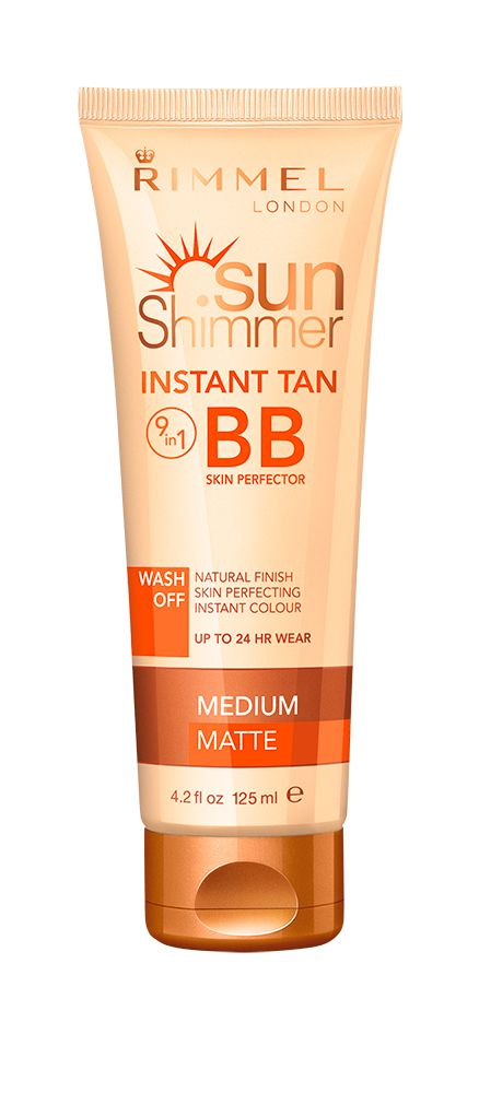 "<p>Nail a bronze with benefits in this clever body BB, which veils your skin in a light, fresh tint with a soothing moisture burst. This instant tan takes the edge off limbs with a glowing, healthy hue, and works like makeup to perfect pores and cover uneven tone. Think that flawless, poreless leggy look that's a red carpet staple, and you'll soon be parading a bronzed body without a gym-induced bruise in sight. Best of all, it envelops skin in a softening formula, so over time it improves the condition of dried-out scaly limbs. Brilliant.</p> <p><a href=""http://www.boots.com/en/Sunshimmer-Instant-Tan-BB-Perfector-Light-Matte_1421363/"" target=""_blank"">Rimmel Sunshimmer Instant Tan BB Skin Perfector, £6.99</a></p> <p><a href=""http://www.cosmopolitan.co.uk/beauty-hair/beauty-tips/fake-tan-tricks-tips"" target=""_blank"">12 TOP FAKE TAN TRICKS</a></p> <p><a href=""http://www.cosmopolitan.co.uk/beauty-hair/beauty-tips/tanning-tips-for-brides-destination-wedding"" target=""_blank"">TANNING TIPS FOR BRIDES</a></p> <p><a href=""http://www.cosmopolitan.co.uk/beauty-hair/beauty-tips/how-to-get-golden-glow-skin"" target=""_blank"">6 STEPS TO GORGEOUS GLOWING SKIN</a></p>"