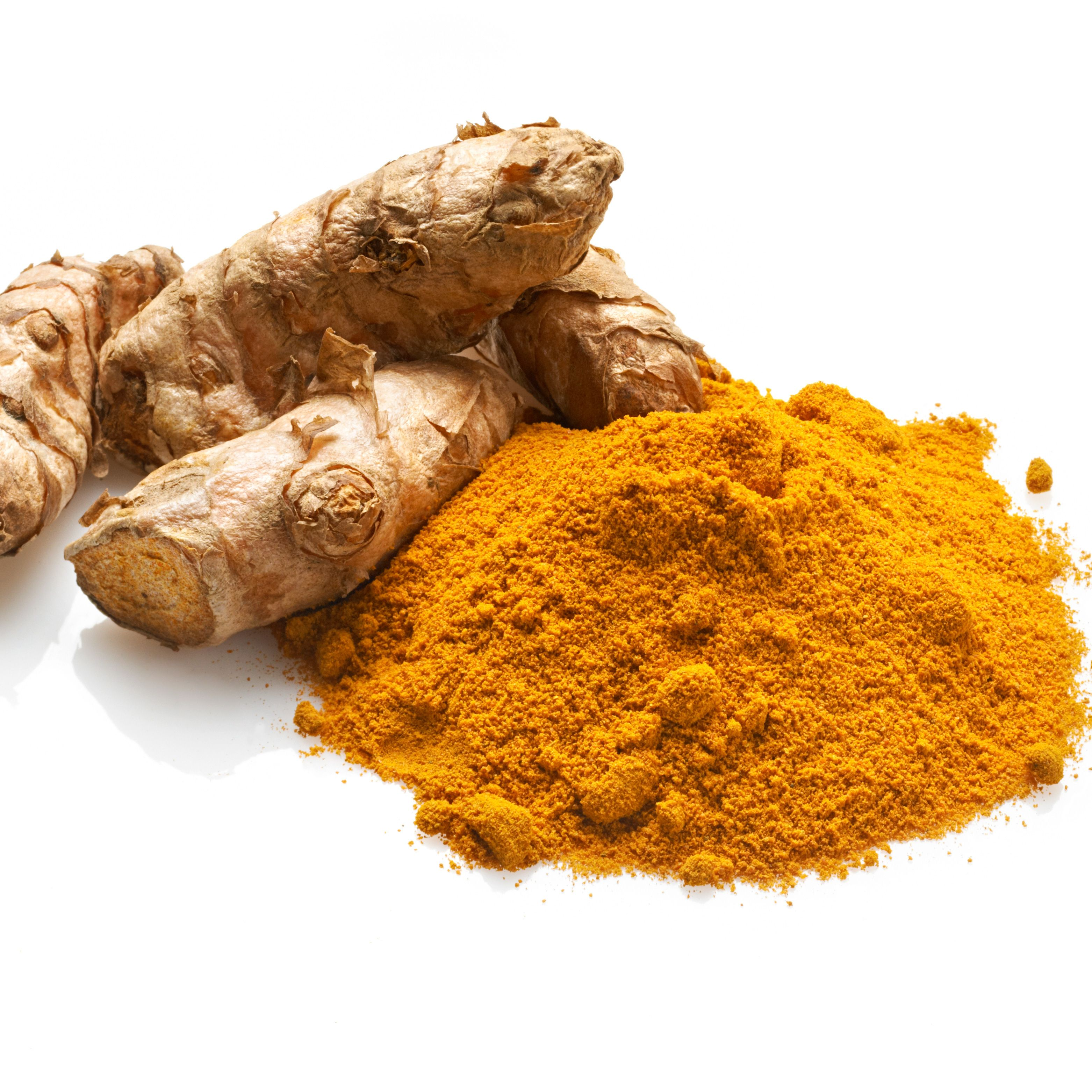 <p><strong>Why should I eat it?</strong> This soothes out inflammation, which can contribute to ageing pores, so eat it to keep swelling down or when skin needs a quick de-puff.</p><p><strong>The science bit:</strong> The key contender is curcumin, its main ingredient, which gives the spice its orange-gold colour and calms skin-swelling down. Great for repairing cell destruction and even healing scars, it also interacts with collagen to increase its viscosity.</p><p><strong>Serve it up:</strong> We all have this spice sitting in the cupboard, so perk your dishes up&#x3B; sprinkle it into a chicken soup or stir-fry with vegetables. You can even make an easy salad dressing with a host of other treats&#x3B; we love it with oil and lemon juice to amp up a healthy lunch.</p>