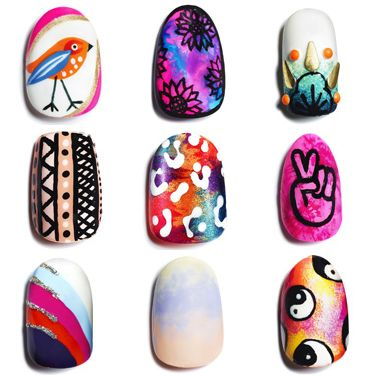 <p>Picked up the July issue of Cosmopolitan yet? Then you will have seen these AMAZING festival nail art designs, created by 12 of the top technicians in the country.</p><p>Find your fave in our gallery, then use our step-by-step guide to master it yourself.</p><p>And don't forget! Always finish your design with a good topcoat to seal in all that hard work.</p><p>Happy camping!</p>