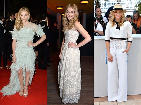 "<p>Chloe was a triple threat at Cannes this weekend <a href=""http://www.cosmopolitan.co.uk/fashion/news/why-chloe-moretz-is-our-new-style-crush"" target=""_blank"">rocking Chanel Couture</a> left right and centre (her two Chanel looks actually are pictured her left and right, but not centre - soz) and she has proved herself as a fashion guru.</p>