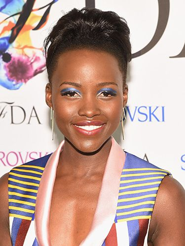 "<p>Here's how to do aquatic eyes in a cool, wearable way; work a vibrant bolt of blue in a slick brightening line. Lupita's approach sees a shimmering hue etched richly through the crease, while you could also wear the same colour along the lower lashline.</p> <p><a href=""http://www.cosmopolitan.co.uk/fashion/news/rihanna-see-through-dress-CFDAS"" target=""_blank"">YOU HAVE TO SEE RIHANNA'S CFDA OUTFIT</a></p> <p><a href=""http://www.cosmopolitan.co.uk/beauty-hair/news/styles/hair-trends-spring-summer-2014?click=main_sr"" target=""_blank"">THE HUGE HAIR TRENDS FOR 2014</a></p> <p><a href=""http://www.cosmopolitan.co.uk/beauty-hair/news/trends/spring-summer-2014-beauty-trends?click=main_sr"" target=""_blank"">SPRING/SUMMER 2014 BEAUTY TRENDS REPORT</a></p>"
