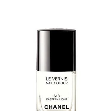 <p>Chanel holds the authority on beauty's hottest shades&#x3B; each year, they release a mani must-have that sets the polish trends. This opaque white is no different with its dreamy, creamy tones, and because it boasts a high-gloss finish, there's no Tippex effect.</p>