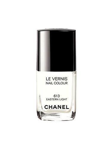 "<p>Chanel holds the authority on beauty's hottest shades; each year, they release a mani must-have that sets the polish trends. This opaque white is no different with its dreamy, creamy tones, and because it boasts a high-gloss finish, there's no Tippex effect.</p> <p><a href=""http://www.chanel.com/en_GB/fragrance-beauty/Makeup-Nail-colour-LE-VERNIS-95550"" target=""_blank"">Chanel Le Vernis in Eastern Light, £18</a></p> <p><a href=""http://www.cosmopolitan.co.uk/beauty-hair/news/trends/nail-trends-spring-summer-2014"" target=""_blank"">THE BIG 2014 NAIL TRENDS</a></p> <p><a href=""http://www.cosmopolitan.co.uk/beauty-hair/news/trends/celebrity-beauty/celebrity-nail-art-manicures"" target=""_blank"">CELEBRITY NAIL ART TRENDS</a></p> <p><a href=""http://www.cosmopolitan.co.uk/beauty-hair/news/trends/makeup-trends-spring-summer-2014"" target=""_blank"">9 BIG BEAUTY TRENDS FOR SS14</a></p>"