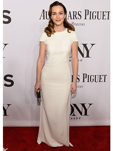 "<p>We've said it once today and we'll say it again: Leighton Meester looked GORGEOUS on the red carpet of the Tony Awards. Not only because of the smile plastered on her face as she <a href=""http://www.cosmopolitan.co.uk/celebs/entertainment/leighton-meester-adam-brody-tony-awards"" target=""_blank"">outed for the first time with new husband Adam Brody</a>, but because she looked simplistically stunning in a white Antonio Berardi dress.</p> <p><a href=""http://www.cosmopolitan.co.uk/fashion/guys-awards-red-carpet-looks"" target=""_blank"">THE BEST LOOKS FROM THE GUYS' CHOICE AWARDS</a></p> <p><a href=""http://www.cosmopolitan.co.uk/fashion/news/best-of-the-cfda-red-carpet?page=1"" target=""_blank"">HOTTEST RED CARPET LOOKS AT THE CFDAS</a></p> <p><a href=""http://www.cosmopolitan.co.uk/fashion/shopping/ten-of-the-best-summer-shoes"" target=""_blank"">10 OF THE BEST SUMMER SHOES</a></p>"