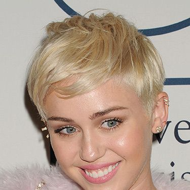 """<p>Miley's undercut gives her pearly blonde crop some edge. We love how she can style it forwards (like this) or quiff it up to get a punky look.</p><h3> </h3><p><a href=""""http://www.cosmopolitan.co.uk/_mobile/beauty-hair/news/styles/celebrity/summer-celebrity-hair-colour-ideas"""" target=""""_self"""">NEW CELEBRITY HAIR COLOUR IDEAS</a><br /><a href=""""http://www.cosmopolitan.co.uk/beauty-hair/news/styles/celebrity/celebrity-summer-trend-wavy-hair"""" target=""""_self"""">10 SEXY SUMMER WAVES TO COPY</a><br /><a href=""""http://www.cosmopolitan.co.uk/beauty-hair/news/new-ways-to-do-makeup-summer"""" target=""""_self"""">4 NEW WAYS TO WEAR YOUR MAKEUP</a></p>"""