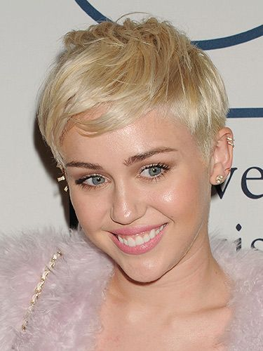 "<p>Miley's undercut gives her pearly blonde crop some edge. We love how she can style it forwards (like this) or quiff it up to get a punky look.</p> <h3> </h3> <p><a href=""http://www.cosmopolitan.co.uk/_mobile/beauty-hair/news/styles/celebrity/summer-celebrity-hair-colour-ideas"" target=""_self"">NEW CELEBRITY HAIR COLOUR IDEAS</a><br /><a href=""http://www.cosmopolitan.co.uk/beauty-hair/news/styles/celebrity/celebrity-summer-trend-wavy-hair"" target=""_self"">10 SEXY SUMMER WAVES TO COPY</a><br /><a href=""http://www.cosmopolitan.co.uk/beauty-hair/news/new-ways-to-do-makeup-summer"" target=""_self"">4 NEW WAYS TO WEAR YOUR MAKEUP</a></p>"
