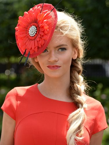 "<p>Flowers are huge in every possible way at the Royal Ascot. So is going matchy-matchy, and this lady has nailed it with her lipstick and dress. Love.</p> <p><a href=""http://www.cosmopolitan.co.uk/fashion/news/floppy-hat-trend?click=main_sr"" target=""_blank"">THE RETURN OF THE HAT - THE MOST ON TREND STYLES</a></p> <p><a href=""http://www.cosmopolitan.co.uk/fashion/news/milliner-stephen-jones-on-new-debenhams-collection-and-hat-wearing-etiquette?click=main_sr"" target=""_blank"">MILLINER STEPHEN JONES ON HAT-WEARING ETIQUETTE</a></p> <p><a href=""http://www.cosmopolitan.co.uk/fashion/shopping/isle-of-wight-festival-what%27s-in-your-bag"" target=""_blank"">WHAT'S IN YOUR FESTIVAL BAG?</a></p>"