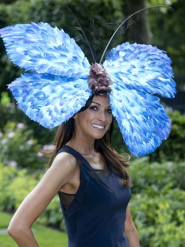 "<p>This butterfly hat is beautifully, brilliantly bonkers. Bravo, Jackie St Clair for amping up your navy dress.</p> <p><a href=""http://www.cosmopolitan.co.uk/fashion/news/floppy-hat-trend?click=main_sr"" target=""_blank"">THE RETURN OF THE HAT - THE MOST ON TREND STYLES</a></p> <p><a href=""http://www.cosmopolitan.co.uk/fashion/news/milliner-stephen-jones-on-new-debenhams-collection-and-hat-wearing-etiquette?click=main_sr"" target=""_blank"">MILLINER STEPHEN JONES ON HAT-WEARING ETIQUETTE</a></p> <p><a href=""http://www.cosmopolitan.co.uk/fashion/shopping/isle-of-wight-festival-what%27s-in-your-bag"" target=""_blank"">WHAT'S IN YOUR FESTIVAL BAG?</a></p>"