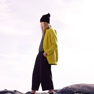 """<p>Yellow texture coat, £25</p><p>Monochrome top, £6</p><p>Black culottes, £14</p><p>Boots, £24</p><p>Hat, £2</p><p><a href=""""http://www.cosmopolitan.co.uk/fashion/news/future-of-dress-sizes-asos"""" target=""""_blank"""">IS THIS THE FUTURE OF DRESS SIZES?</a></p><p><a href=""""http://www.cosmopolitan.co.uk/fashion/news/ultimo-release-boob-job-bikini"""" target=""""_blank"""">ULTIMO RELEASE THE 'BOOB JOB' BIKINI</a></p><p><a href=""""http://www.cosmopolitan.co.uk/fashion/news/festival-fashion-street-style-isle-of-wight"""" target=""""_blank"""">ISLE OF WIGHT FESTIVAL STREET STYLE</a></p>"""
