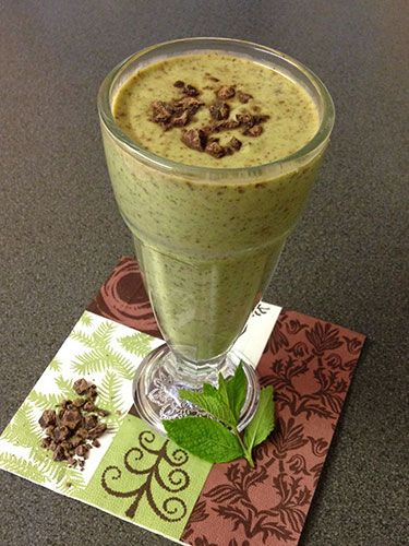 "<p><strong>Ingredients<br /></strong>Handful spinach or watercress or a mix</p> <p>150ml almond milk</p> <p>½ avocado</p> <p>1 small banana</p> <p>10cm piece cucumber</p> <p>2 tsp raw cacao powder or chocolate spread or 2 squares chocolate</p> <p>2 tbsp Greek yogurt, preferably 5% full fat</p> <p>About 8 to 10 mint leaves, chopped (adjust to your taste preference)</p> <p>Squeeze lime juice (optional)</p> <p>½ tsp vanilla extract or ½ tsp vanilla paste or 2.5cm of vanilla pod (optional)</p> <p><strong>Body benefits<br /></strong>Packed with healthy fats, phytochemicals and antioxidants for anti-ageing, detox and disease prevention, including anti-cancer properties.</p> <p><a href=""http://www.cosmopolitan.co.uk/diet-fitness/diets/4-foods-nutritionists-wish-you-would-eat-more-often"" target=""_blank"">4 FOODS NUTRITIONISTS WISH YOU WOULD EAT MORE OFTEN</a></p> <p><a href=""http://www.cosmopolitan.co.uk/diet-fitness/diets/5-easy-ways-to-be-healthier-today"" target=""_blank"">5 EASY WAYS TO BE HEALTHIER TODAY</a></p> <p><a href=""http://www.cosmopolitan.co.uk/diet-fitness/diets/5-easy-ways-to-eat-more-superfoods"" target=""_blank"">HOW TO EAT MORE SUPERFOODS, WITHOUT REALISING</a> </p>"