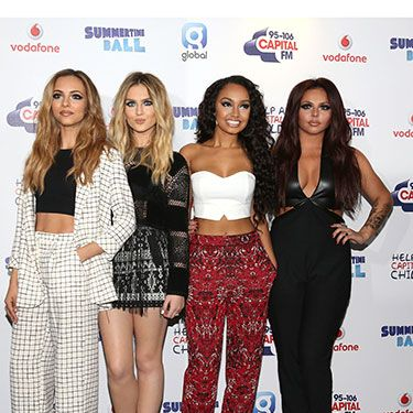<p>The Little Mix girls were sparkling over the weekend, as they accessorised their on-trend outfits with glitter in abundance around the eyes. We particularly love Jade's co-ordinated check suit and Leigh-Anne's print trousers. Gorgeous!</p>