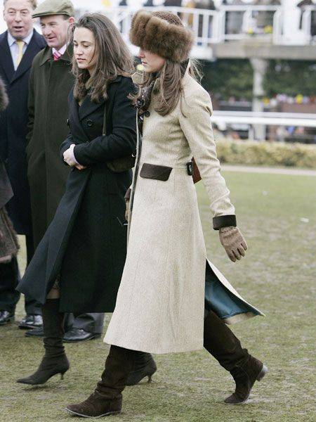 Attending the Cheltenham Races in March 2006,  Kate made sure she was not caught out in the cold with this snuggly Russian-style fur hat. We do hope it was faux fur Kate!<br />
