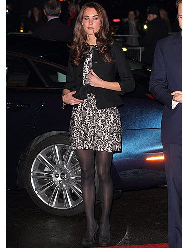 We love that Kate Middleton wore a cream and lace mini dress from Zara, alongside a black Ralph Lauren jacket to a Prince's Trust charity concert hosted by Gary Barlow. She likes to champion the British high street and we think that's VERY cool