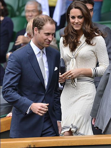 <p>Kate Middleton appreciates a good dress when she has one which is why we often see her wearing them more then once! This Alexandra McQueen dress is no exception. Wearing it to Wimbledon 2012, Kate was also spotted wearing this same little number around the same time last year. Well, it is a classic afterall...</p> <p> </p> <p> </p>