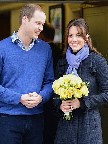 <p>Hurrah! Kate Middleton emerged from King Edwards VII hospital with her hubby by her side. Kate and William were both smiling as they left the hospital where she had to stay in for three nights due to morning sickness. The royal beauty was wrapped up against the cold in a coat and scarf - and we're positive the Duchess is already glowing...</p>