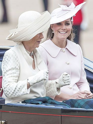<p>Are you ready? This is the last look we'll have of Kate Middleton's magnificent maternity style. For her last official engagement ahead of the royal baby's birth the Duchess of Cambridge saved one of her prettiest looks. Clad in a pale pink Alexander McQueen coat complete with large collar and pearl buttons she wowed the crowds at the Trooping of the Colour parade to mark the Queen's birthday. Her outfit was made complete with a matching hat by milliner, Jane Corbett. It's been an incredible nine months of style watching, thank you Kate.</p>