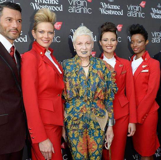 <p>Dame Vivienne Westwood is on a mission to bring glamour back to the skies with a brand new uniform design for Virgin Atlantic flight attendants.</p><p>The likes of Debbie Harry, Daisy Lowe and Naomie Harris joined Westwood and Sir Richard Branson to celebrate the new collection on Tuesday night. Get the low-down on the brand new, totally fash-mazing uniforms and who wore what to the party by clicking through the gallery...</p>