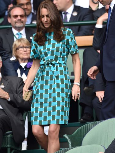"<p>It wouldn't be Wimbledon without Kate Middleton totally distracting us with her style. This time it's her green, patterned Jonathan Saunders dress that has caught our eye.</p> <p><a href=""http://www.cosmopolitan.co.uk/fashion/news/red-carpet-dresses-serpentine-summer-party-2014"" target=""_blank"">CELEBS GLAM-UP FOR SERPENTINE GALLERY SUMMER PARTY</a></p> <p><a href=""http://www.cosmopolitan.co.uk/fashion/shopping/sports-luxe"" target=""_blank"">SPORTS LUXE PICKS FOR YOUR WEEKEND WARDROBE</a></p>"
