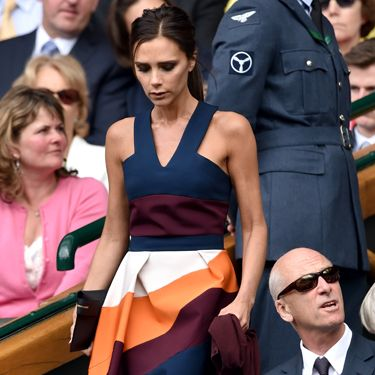 <p>Just when we'd sort of come to terms with not having tickets for Wimbledon, THIS happens. Posh Spice shows up with David in all her impeccably-dressed glory.</p>