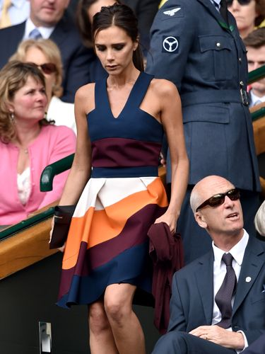 "<p>Just when we'd sort of come to terms with not having tickets for Wimbledon, THIS happens. Posh Spice shows up with David in all her impeccably-dressed glory.</p> <p><strong><em>Click through the gallery to see all the celebrity fashion from Wimbledon so far this year...</em></strong></p> <p><a href=""http://www.cosmopolitan.co.uk/fashion/news/red-carpet-dresses-serpentine-summer-party-2014"" target=""_blank"">CELEBS GLAM-UP FOR SERPENTINE GALLERY SUMMER PARTY</a></p> <p><a href=""http://www.cosmopolitan.co.uk/fashion/shopping/sports-luxe"" target=""_blank"">SPORTS LUXE PICKS FOR YOUR WEEKEND WARDROBE</a><strong><br /></strong></p>"