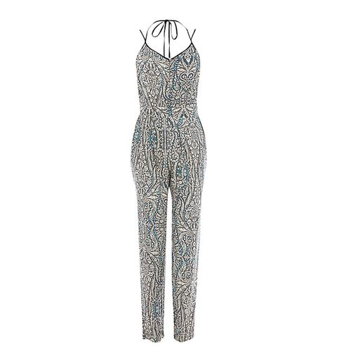 "<p><a href=""http://www.johnlewis.com/warehouse-paisley-cami-jumpsuit-multi/p1423308"" target=""_blank"">Paisley cami print jumpsuit, £50, Warehouse</a></p> <p> </p>"