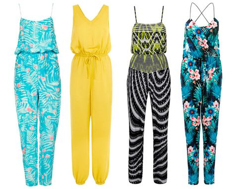 <p>The problem with jumpsuits, aside from the obvious 'needing an extra 10 minutes to go to the bathroom' situation, is that sometimes, just sometimes, it can look as though you've left your house wearing a onesie.</p> <p>And while we're all for pyjama fashion, every now and then we want more from our clothes than just a whole load of comfort.</p> <p>Want some inspiration? We're here to help.</p> <p><em><strong>Click through to see our pick of the 10 jumpsuits that won't make you look like you're wearing your PJs...</strong></em></p>