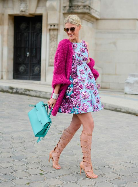 "<p><strong>Who:</strong> Sofie Valkiers, fashion blogger</p> <p><strong>Wearing:</strong> Mary Katranzou dress, Delvaux bag and Schutz shoes</p> <p><a href=""http://www.cosmopolitan.co.uk/fashion/news/paris-fashion-week-celebrities"" target=""_blank"">CELEBRITY FRONT ROW FASHION FROM PARIS</a></p> <p><a href=""http://www.cosmopolitan.co.uk/fashion/news/paris-fashion-week-celebrities-chanel"" target=""_blank"">K-STEW OWNS THE CHANEL FROW</a></p> <p><a href=""http://www.cosmopolitan.co.uk/fashion/news/paris-fashion-week-versace"" target=""_blank"">J.LO STUNS AT STAR-STUDDED VERSACE</a></p>"