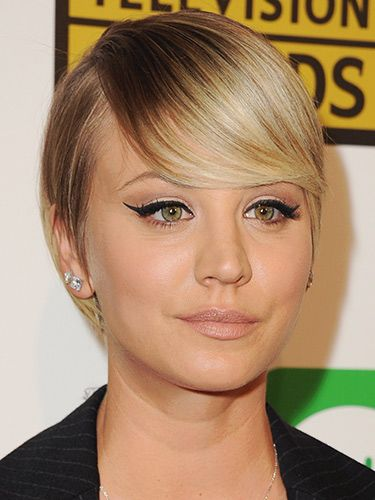"<p>Kaley's hair just keeps getting shorter. Her latest look is this Twiggy-esque sleekly styled crop. We love.</p> <p><a href=""http://www.cosmopolitan.co.uk/beauty-hair/news/styles/hair-trends-spring-summer-2014"" target=""_blank"">HUGE HAIR TRENDS FOR SUMMER 2014</a></p> <p><a href=""http://www.cosmopolitan.co.uk/beauty-hair/news/celebrities-with-long-hair"" target=""_self"">THE FLIP-SIDE: CELEBS WITH MEGA-LONG LOCKS</a></p> <p><a href=""http://www.cosmopolitan.co.uk/beauty-hair/beauty-tips/signs-you-need-a-haircut"" target=""_self"">10 CLEAR SIGNS YOU NEED A HAIRCUT</a></p>"