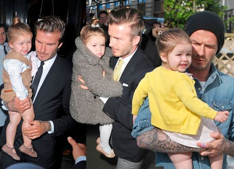 <p>Let's face it, there aren't many other three-year-olds who can compete with Harper Seven Beckham's wardrobe. Well, she HAS got a fashion designer for a mum...</p> <p>To celebrate the youngest of the Beckham clan's birthday, we've put together her very impressive style CV, from <em>those</em> Chloe tights, to Roksanda Ilincic dresses and Bonpoint matching sets.</p> <p>PS: Harper is being held in most of the pictures by her dad, David. (Just in case this appeals to you...)</p> <p><em><strong>Click through the gallery to see Harper's style CV...</strong></em></p>